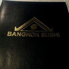 Photo taken at Bangkok Sushi by Jan S. on 7/1/2012