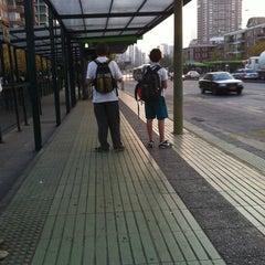 Photo taken at Paradero Escuela Militar by Vanessa M. on 5/11/2012
