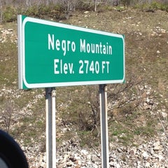 Photo taken at Negro Mountain by Fifi .. on 4/25/2012