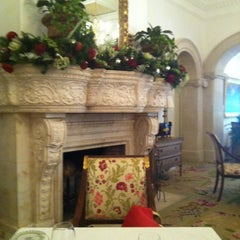 Photo taken at The Georgian Room At The Cloister by Sarah C. on 12/1/2011