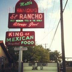 Photo taken at Matt's Famous El Rancho by Joanna Q. on 7/3/2012