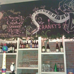 Photo taken at Cranky's Cafe by Yahmeela S. on 1/8/2012