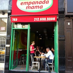 Photo taken at Empanada Mama by Mikey B. on 4/27/2011