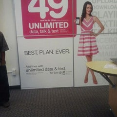 Photo taken at T-Mobile by Cora R. on 9/28/2011