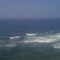 Photo taken at Playa Señoritas by Melissa E. on 1/1/2012