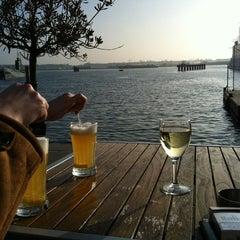 Photo taken at IJ-kantine by Merel C. on 3/15/2012