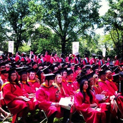 Photo taken at St. John's University by Julia S. on 5/13/2012