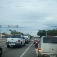 Photo taken at Tampa Rd & Forest Lakes Blvd by Brad L. on 8/30/2011