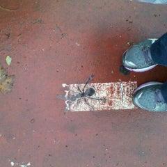 Photo taken at Metro Praça de Espanha [AZ] by Cris M. on 10/26/2011