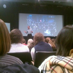 Photo taken at NYU Cantor Film Center by Marco V. on 1/23/2012