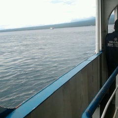 Photo taken at On the boat by Tubagus R. on 1/9/2012