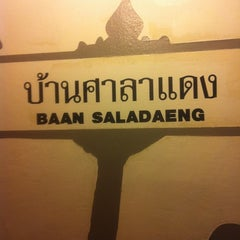 Photo taken at Baan Saladaeng by Brian S. on 10/2/2011