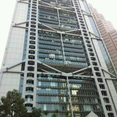 Photo taken at HSBC Hong Kong Office 匯豐銀行香港總行 by Huimin Y. on 1/31/2012