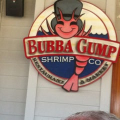 Photo taken at Bubba Gump Shrimp Co. by Zach T. on 6/14/2012