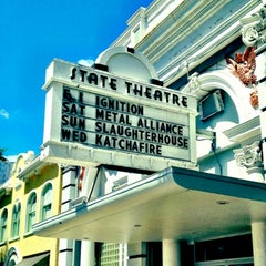 Photo taken at State Theatre by Ramsey M. on 3/14/2012