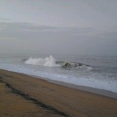 Photo taken at Kollam Beach by Howard Jimmy J. on 6/15/2012