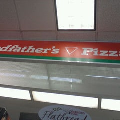 Photo taken at Godfather's Pizza by Stephen S. on 4/27/2012