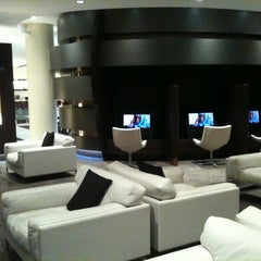 Photo taken at Etihad First Class Lounge by Kemal D. on 3/19/2012