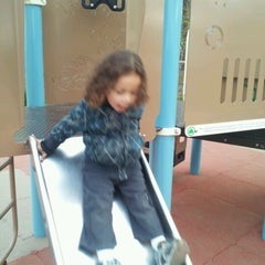 Photo taken at New Dorp Beach Park by Fabia R. on 4/10/2012