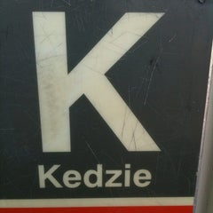 Photo taken at CTA - Kedzie by Kid Enigma on 8/17/2012