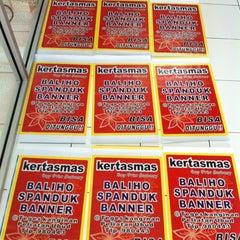 Photo taken at Kertas Mas Digital Printing by geg_ewind H. on 2/4/2012