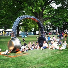 Photo taken at Governor's Ball by Don G. on 6/25/2012