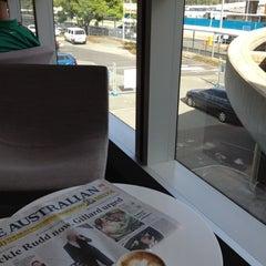 Photo taken at Virgin Australia Lounge by Steve M. on 2/19/2012