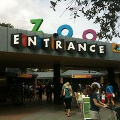 Photo taken at Houston Zoo by Christian M. on 7/7/2012
