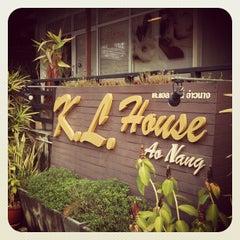 Photo taken at K.L. House Ao Nang by Nuttneiry P. on 5/25/2012