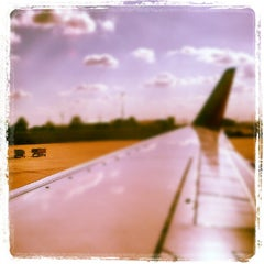 Photo taken at Gate B5 by Aunt B. on 7/1/2012