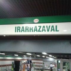 Photo taken at Metro Irarrázaval by Pachamamic on 11/10/2011
