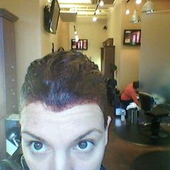 Photo taken at Henry's Salon by Melinda S. on 1/14/2012