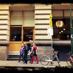 Photo taken at Journal Cafe by Víctor O. on 12/22/2010
