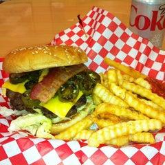 Photo taken at Edy's Burger by Brady S. on 12/31/2011
