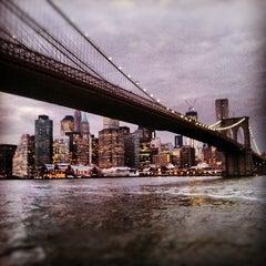 Photo taken at Under The Brooklyn Bridge by Nick J. on 2/14/2012