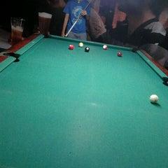 Photo taken at Brewball Pool Club & Bar by ard P. on 2/1/2012