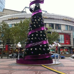 Photo taken at 大上海时代广场   Times Square by JC on 12/8/2011