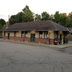 Photo taken at Franklin/Dean College MBTA Station by WEA Jr. on 7/8/2012
