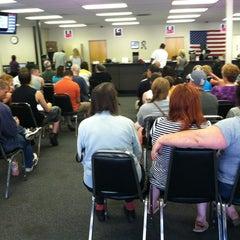 Photo taken at Iowa DOT License Station by Macy K. on 7/31/2012