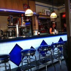 Photo taken at South Street Diner by Ben C. on 7/27/2012