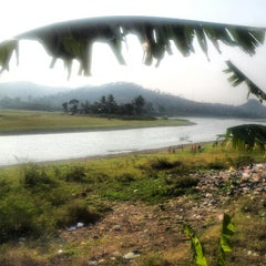Photo taken at Situ Ciburuy by Didit P. on 9/5/2012