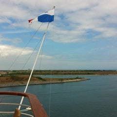 Photo taken at Carnival Ecstasy by Colleen B. on 2/18/2012