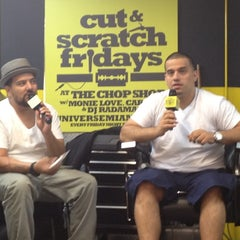Photo taken at Chop Shop Barbershop, Miami by Lou The Chef on 3/22/2012
