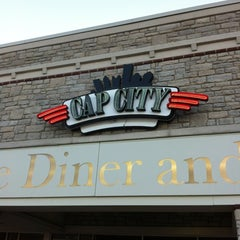 Photo taken at Cap City Fine Diner by Rob Y. on 3/10/2012