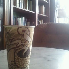 Photo taken at The Library - A Coffee House by Paul R. on 1/23/2012