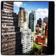 Photo taken at Fifty NYC-an Affinia Hotel by Katy A. on 8/11/2012