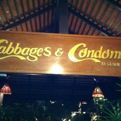 Photo taken at Cabbages and Condoms by Agatha L. on 1/9/2011