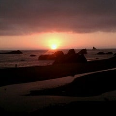 Photo taken at Harris Beach State Park by Therese on 8/13/2011