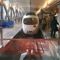 Photo taken at 小田急 新宿駅 2-3番線ホーム by Saeka A. on 1/8/2012