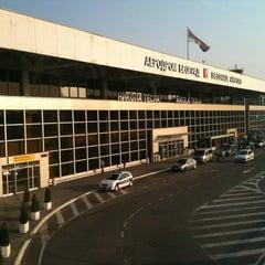 Photo taken at Nikola Tesla Airport (BEG) by Gina L. on 8/27/2012